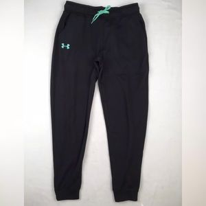 Under Armour Pants - Womens Under Armour Joggers Black Mint FINAL PRICE